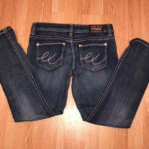 8 Short Express Skinny jeans